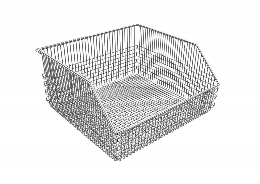 Nimble\'s Wire Baskets & Wall Panels - Efficient Storage Solutions